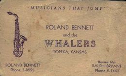 Business card. Courtesy Dick Bennett