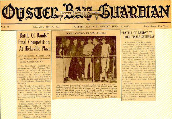 Oyster Bay Guardian; July 22, 1966